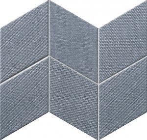 Tubądzin House of Tones Navy Mozaika 22,8x29,8
