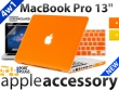 4w1 MacBook Pro 13'' OBUDOWA HARD CASE ETUI MAT LOGO
