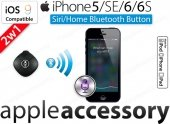 Siri Home bluetooth button do iPhone iPad iPod