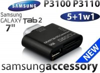 ADAPTER 5w1 Samsung Galaxy Tab 2 Czytnik SD USB P3100