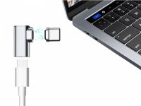 Magnetyczny Adapter USB-C Kątowy do Apple MacBook