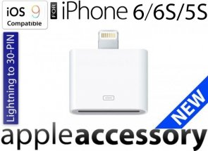 Adapter Lightning 8 do 30 PIN do Apple Phone 5 6 6Plus iOS9