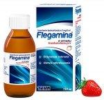 FLEGAMINA JUNIOR truskawkowa syrop 2 mg/5 ml 120ml