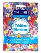On Line Senses Pieniąca Sól do kąpieli Tahitian Mornings  80g