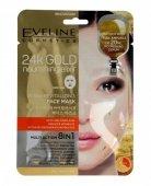 Eveline 24k Gold Ultra-rewitalizująca Maska w płacie 8w1  1szt