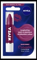 NIVEA*POMADKA Care & Color w kredce BLACK CHERRY