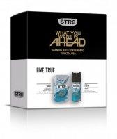 SAR ZEST STR8/EDT50+DEO150/LIVE TRUE