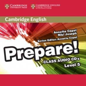 Cambridge English Prepare!  5 Class Audio 2CD