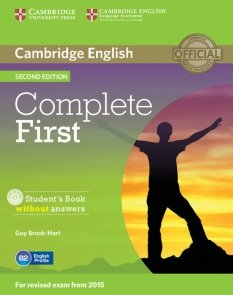 Complete First Student's Book without answers + CD