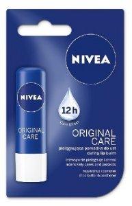 Nivea Lip Care Pomadka ochronna Original Care  4.8g
