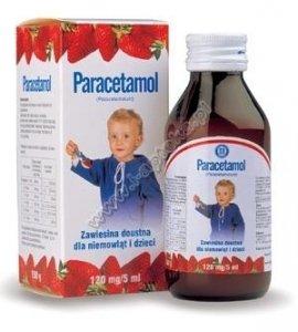 PARACETAMOL 120mg/5 ml - zawiesina 150ml