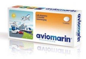 AVIOMARIN 0,05 x 10 tabletek