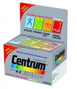 CENTRUM A-Z Silver 50+ x 30 tabl.