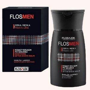 Floslek FlosMen Kojacy balsam po goleniu nawilza i lagodzi