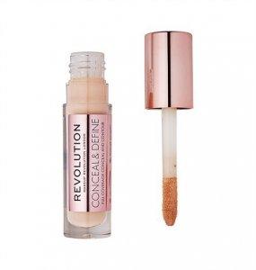Makeup Revolution Conceal and Define Korektor w płynie C7