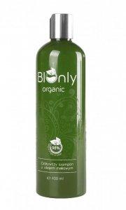 BIOnly*Organic Szampon Olej Makowy 400ml.