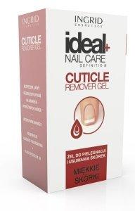 Ingrid Ideal Nail Care Żel do pielęgnacji i usuwania skórek Cuticle Remover Gel  7ml