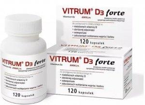 VITRUM D3 FORTE 120 kaps.