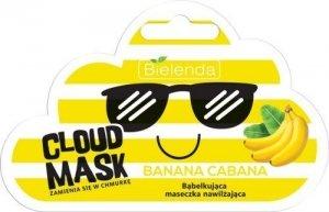 BIEL*CLOUD MASK  Maseczka bąbelk. Banana Cabana