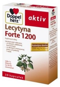 DOPPELHERZ Activ Lecytyna FORTE x 30 kaps.