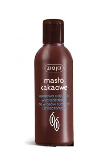 Ziaja MASŁO KAKAOWE kremowa odżywka wygładzająca do włosów suchych i zniszczonych 200 ml