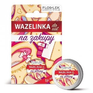 Floslek Lip Care Wazelinka do ust Na zakupy  15g
