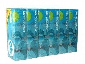 O.B.ProComfort Super Plus komfortowe tampony 6op. x 16szt (5+1 gratis)