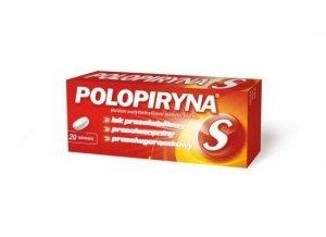 POLOPIRYNA S - 20 tabletek