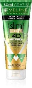 Eveline 4D slim EXTREME Kawowe Serum wyszczuplająco - drenujące  250ml