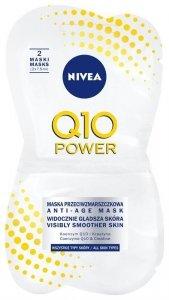 NIVEA*V Maska Przeciwzmarszczkowa Power&