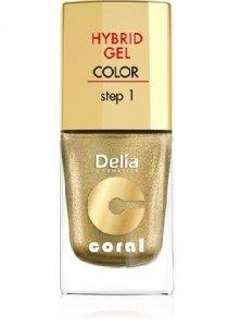 Delia Cosmetics Coral Hybrid Gel Emalia do paznokci nr 28  11ml