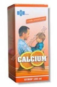 CALCIUM syrop 150ml - pomarańczowy