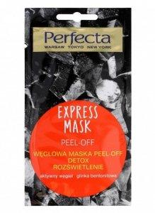 Perfecta Express Mask Węglowa Maska Peel-Off Detox  8ml