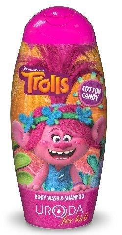 Bi-es Disney Żel pod prysznic 2w1 dla dzieci Trolls Poppy 250ml