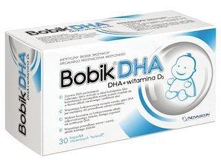 BOBIK DHA (DHA+Vit.D3) x 30 kapsułek twist-off