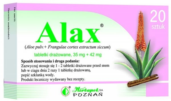 ALAX  x 20 drażetek