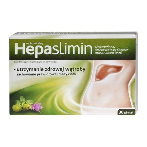 HEPASLIMIN tabl. 30szt utrzymanie zdrowej wątroby