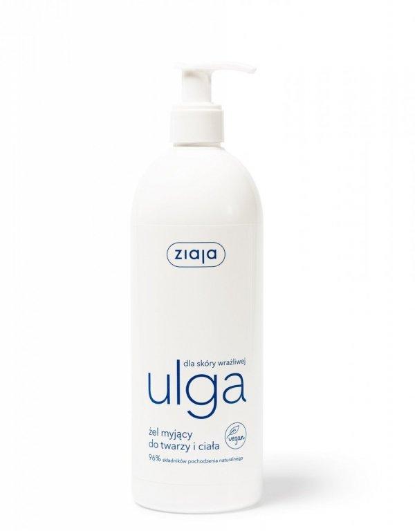 Ziaja ULGA żel myjący ciało i twarz 400ml