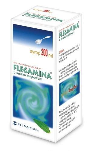 FLEGAMINA miętowa syrop 200ml