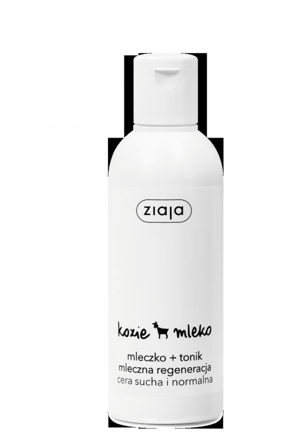 Ziaja KOZIE MLEKO MLECZKO + TONIK mleczna regeneracja 200ml