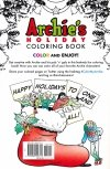 ARCHIES HOLIDAY COLORING BOOK SC