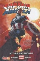 ALL-NEW CAPTAIN AMERICA VOL 01 HYDRA ASCENDANT HC (STANDARD COVER) **
