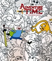 ADVENTURE TIME COLORING BOOK SC