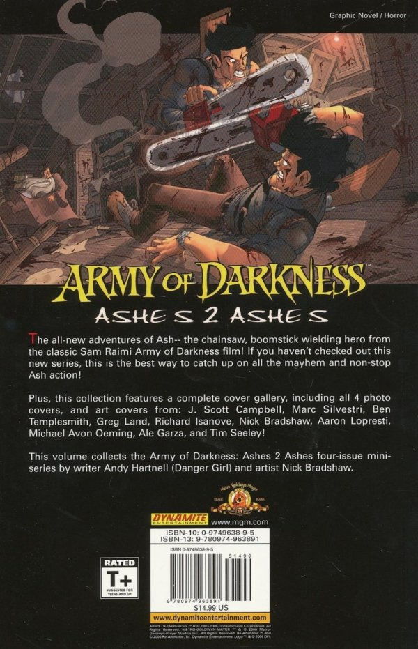 ARMY OF DARKNESS ASHES 2 ASHES SC