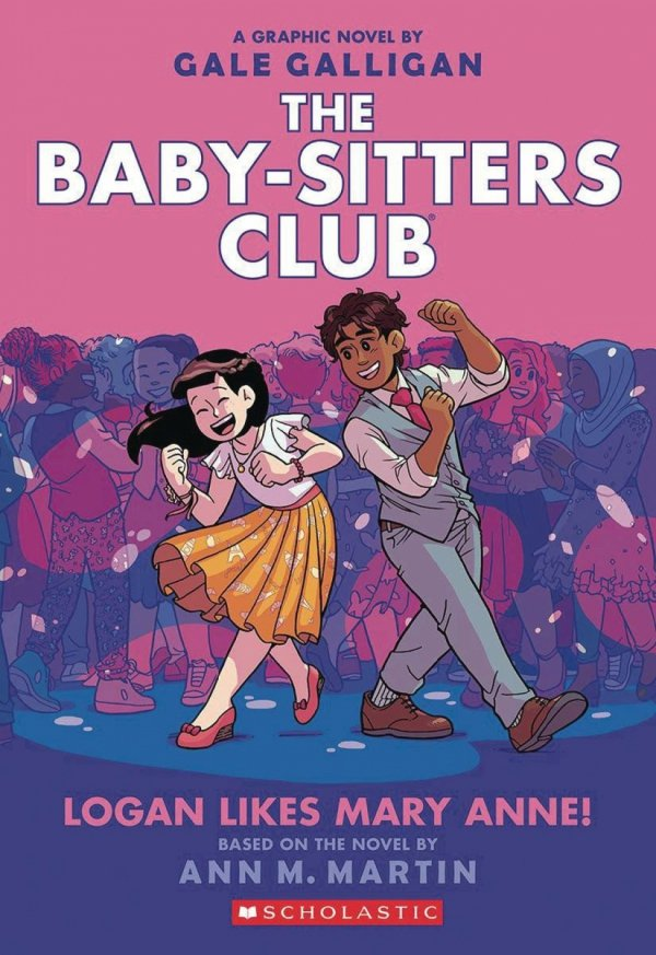 BABY SITTERS CLUB COLOR ED GN VOL 08 LOGAN LIKES *
