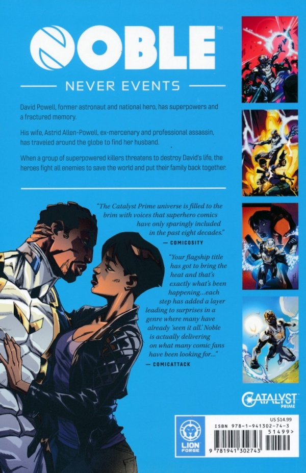 CATALYST PRIME NOBLE VOL 02 NEVER EVENTS SC