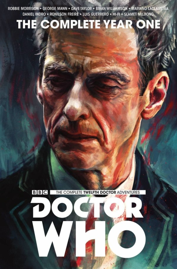 DOCTOR WHO 12TH COMPLETE EDITION YEAR ONE HC *