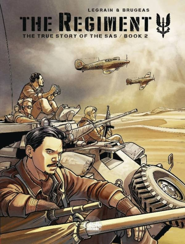 REGIMENT TRUE STORY OF SAS GN VOL 02 *