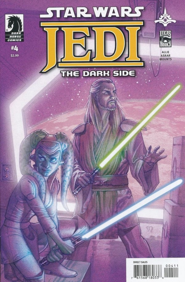 STAR WARS JEDI THE DARK SIDE #4