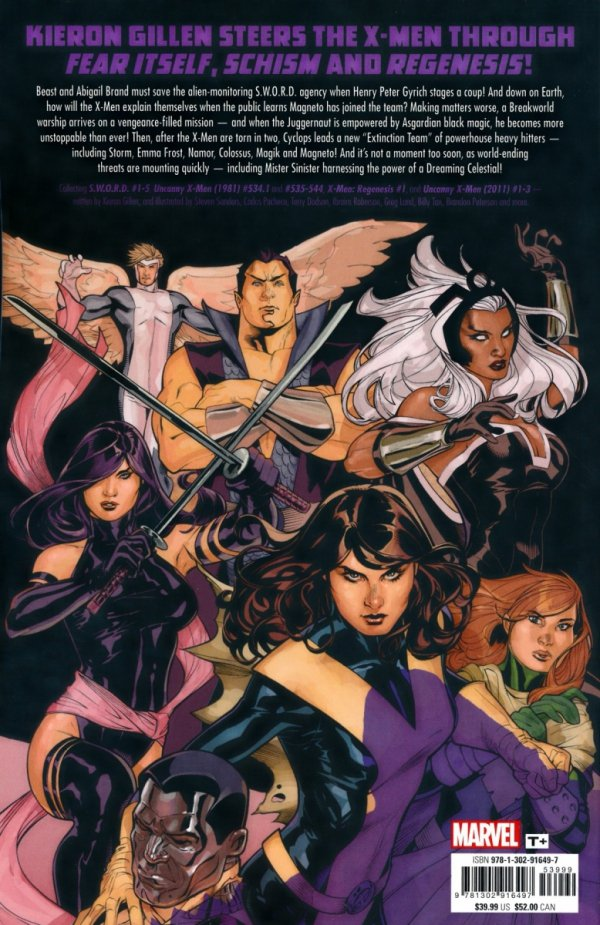 UNCANNY X-MEN BY KIERON GILLEN THE COMPLETE COLLECTION VOL 01 SC